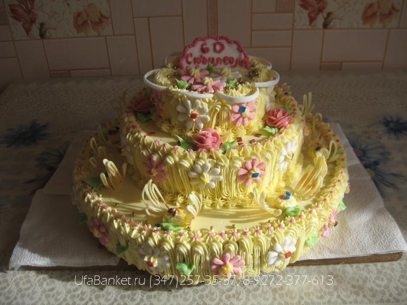 Фото эксклюзивных тортов к юбилею
